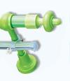 Карниз пластик 2,0м зеленый (Польша)