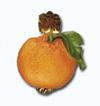 Кламерка керамическая (Pomarancz kc 7131) апельсин