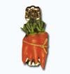 Кламерка керамическая (Marchewki kc 7143) морковь