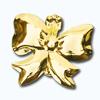Кламерки метал. (Kokarda KM7202) бант золото