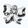 Кламерки метал. (Kokarda KM7212) бант серебро