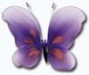 Мотыль большой (Fioletowy I MD 7421) фиолетовый