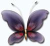 Мотыль большой (Fioletowy II MD 7428) фиолетовый