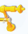 Карниз пластик 1,6м желтый (Польша)