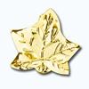 Кламерки метал.(Lisc klonu KM7205)лист клен золото
