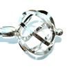 Наконечник (kula azur) шар ажур D16мм серебро