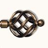 Наконечник (kula azur) шар ажур D16мм золото антик