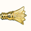 Наконечник (lilijka) лиличка D16мм золото