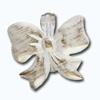 Кламерки метал. (Kokarda KM7232) бант белое золото